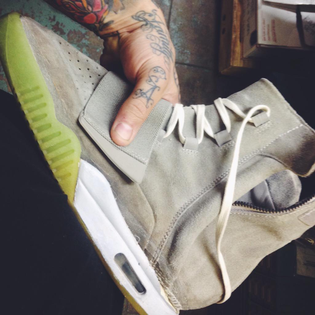 adidas Yeezy Boost with Nike Yeezy Sole