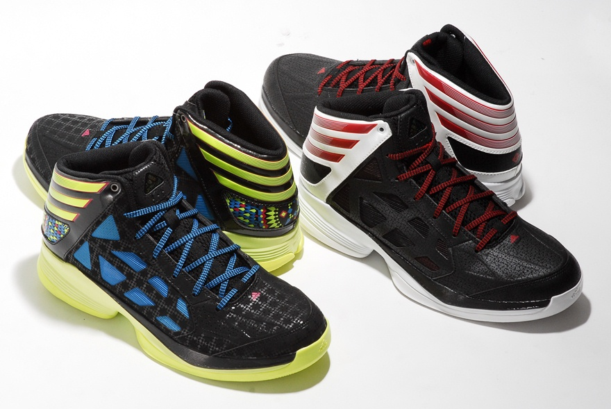 the latest c4d9f 987f5 adidas Basketball is showing love to some of its other promising young  guards with a new set of quickstrike colorways atop the Crazy Shadow model  for Jrue ...