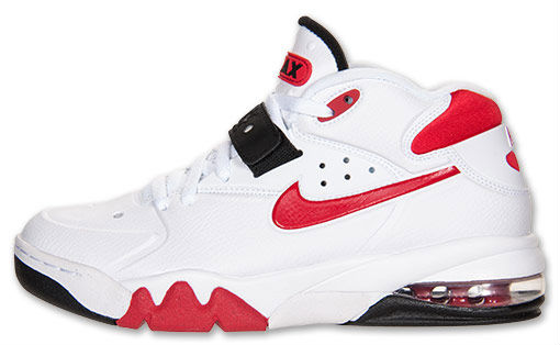 Nike Air Force Max 2013 White University Red Black 555105-100 (1)