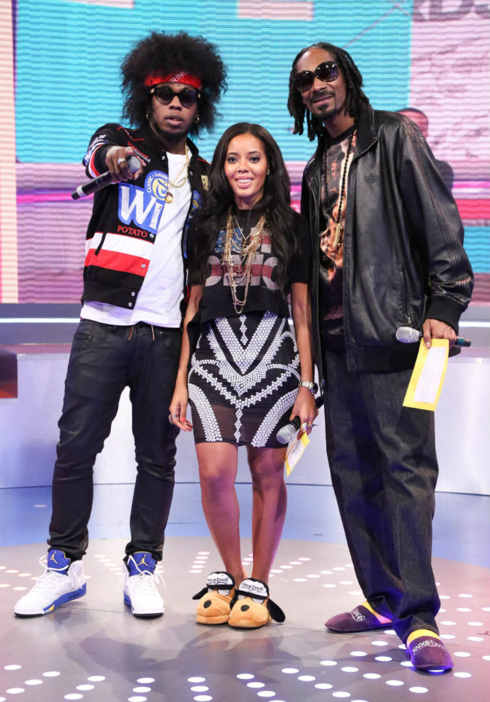 Trinidad James Wearing Air Jordan V 5 Retro Laney (1)