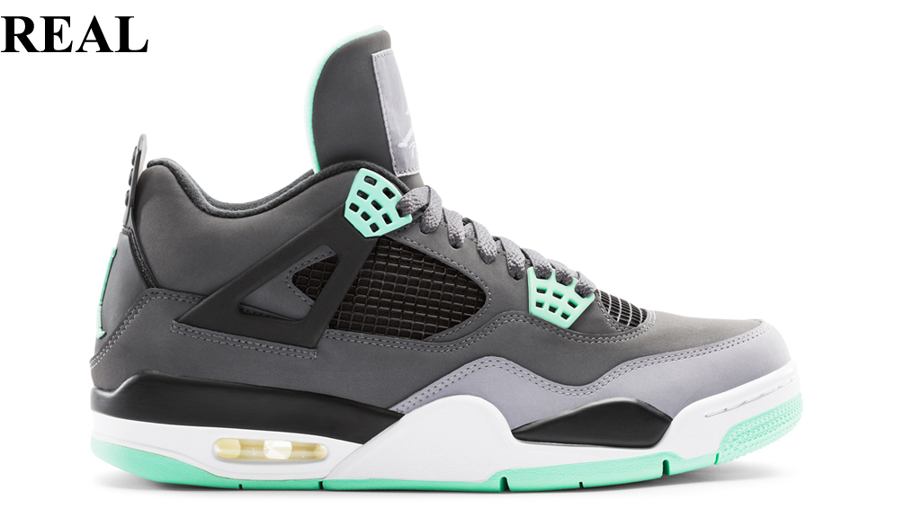 9. Air Jordan 4 Retro  Green Glow  When this colorway was confirmed 85cdee079
