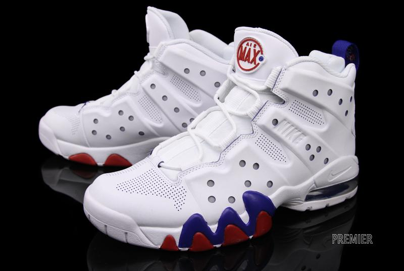 Nike Air Max Barkley White White Old Royal Gym Red 488119-106 (2)