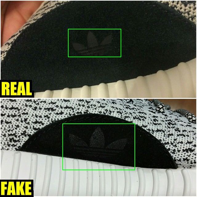 pick up 6e376 d7d7b How To Tell If Your adidas Yeezy 350 Boosts Are Real or Fake ...