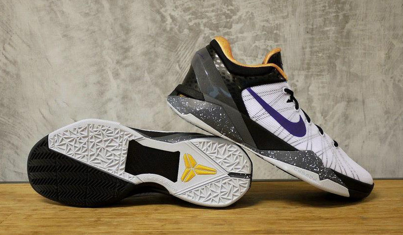 ad199cc1d055 Nike Zoom Kobe VII 7 White Black Gold Purple 488371-103 (7)