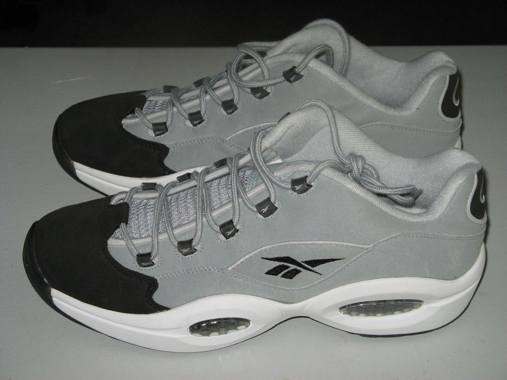 Reebok Question Low Grey/Black