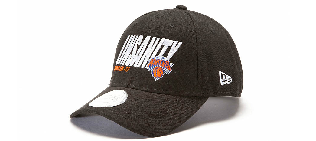 New Era Jeremy Lin Linsanity 39THIRTY Hats Caps Fitted Knicks Black (1)