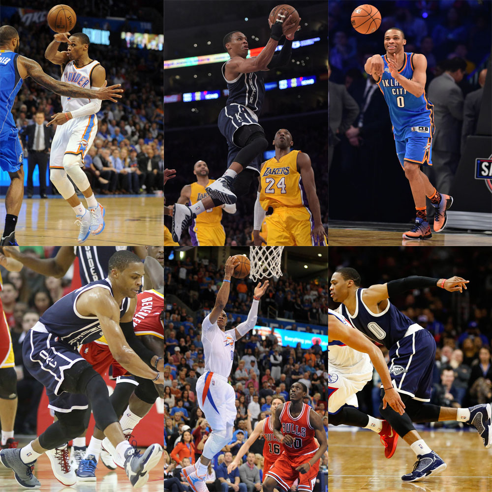 NBA #SoleWatch 2015 Power Rankings: #8 Russell Westbrook