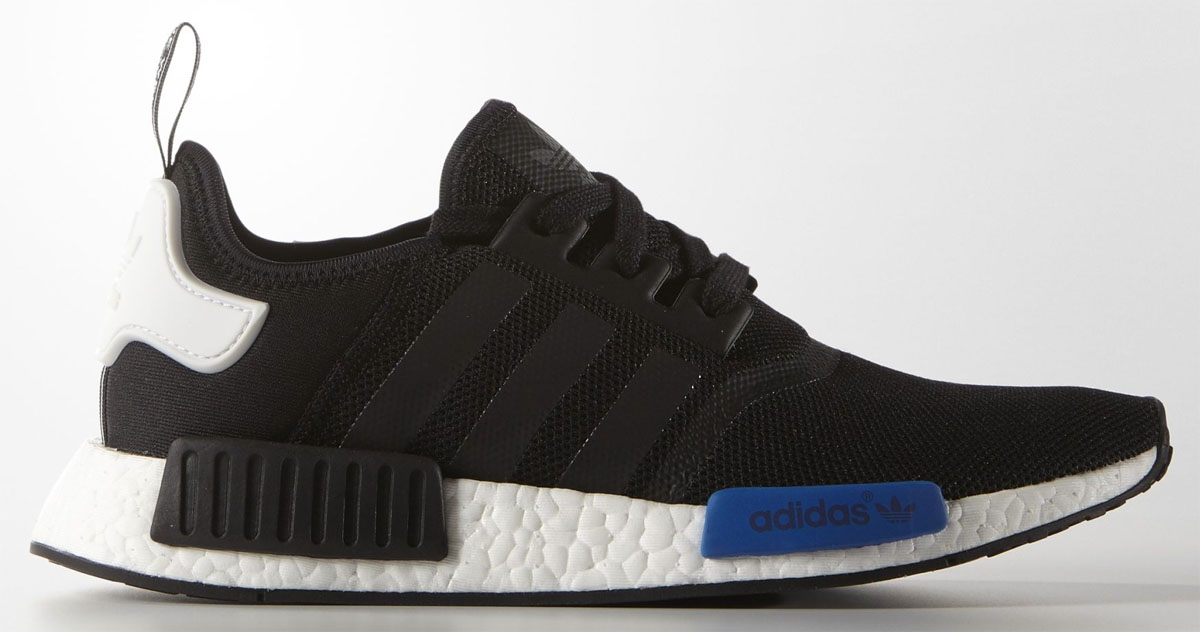 adidas NMD Black/White-Blue