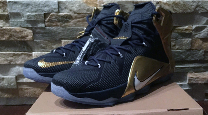 online retailer 7140a b1476 Don t Forget About the Other  Akron  Nike LeBron 12   Sole Collector