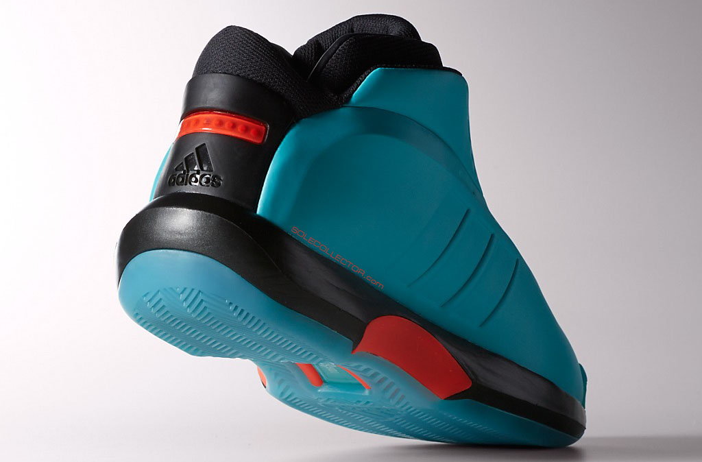 adidas Crazy 1 Teal/Orange (5)
