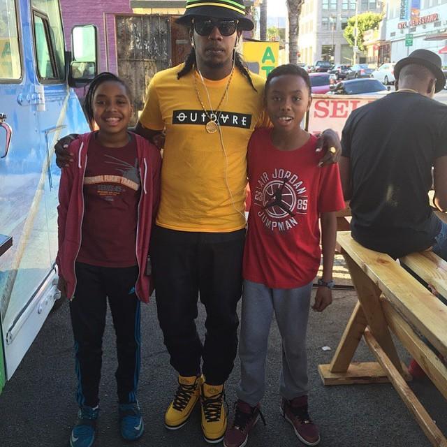 226eeaa15c8 Trinidad James wearing the