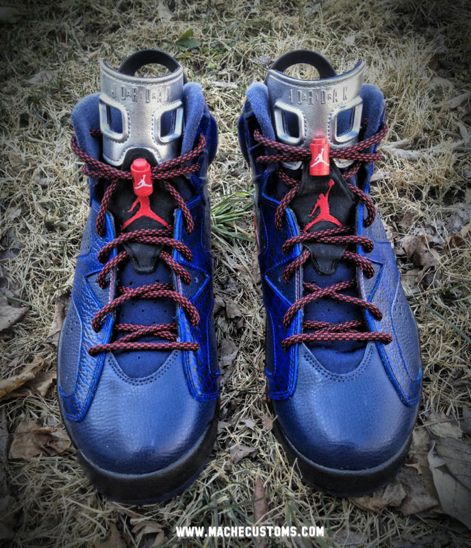 Air Jordan VI 6 Cobra Commander by Mache Custom Kicks (1)
