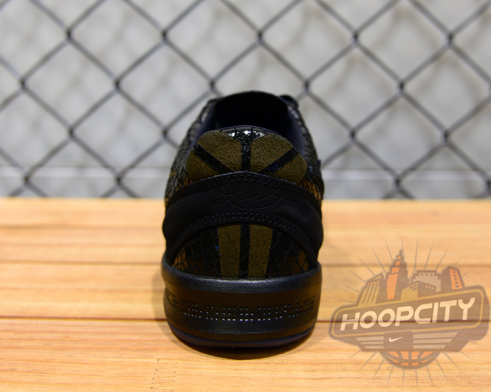 474654a0ddf7 Nike Kobe 8 EXT - Year of the Snake - Black Metallic Silver