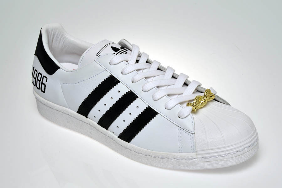 "adidas Originals Superstar 80s - Run DMC ""My adidas"" 25th Anniversary 29"