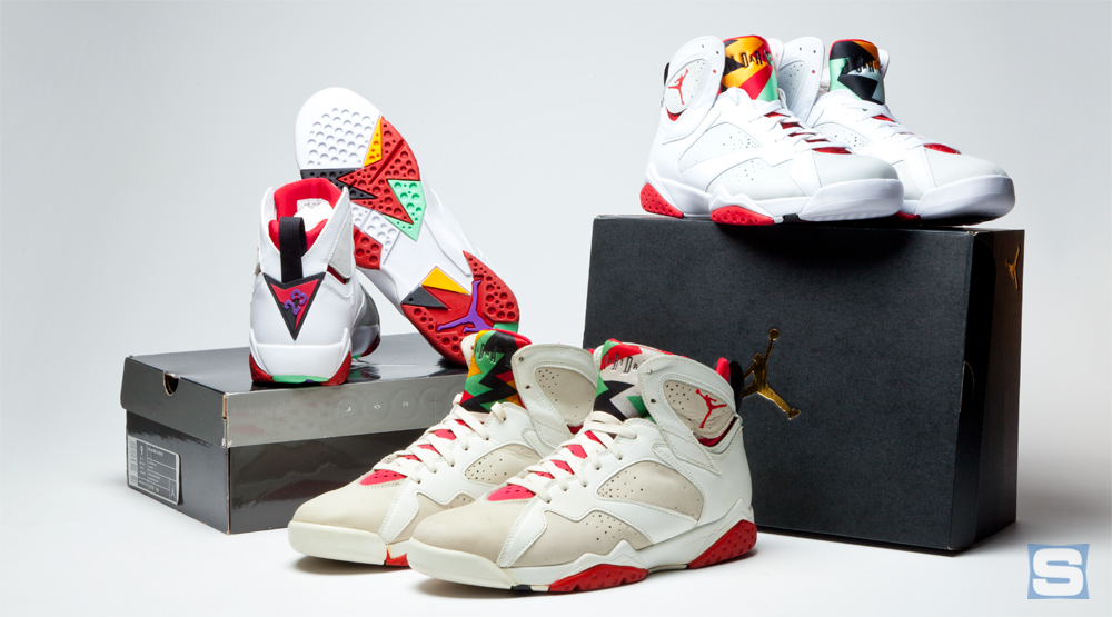 low priced 08921 6c91d How Do the 2015  Hare  Jordan 7s Compare to the Originals