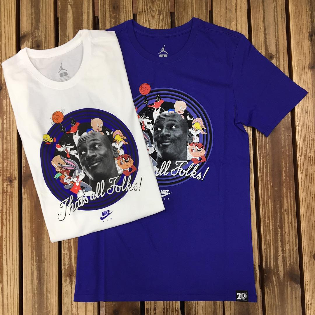 620cc0d62c6c Jordan Space Jam Shirts | Sole Collector