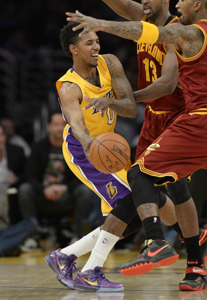 new concept 9ad93 5c024 Nick Young wearing Nike Zoom Kobe IV 4 Prelude (1)