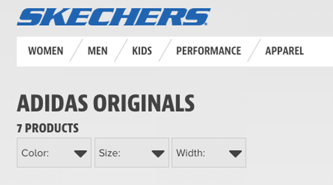 Skechers adidas Originals
