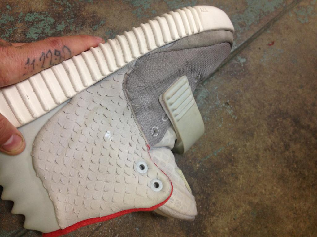 Nike Air Yeezy 2 with adidas Yeezy Boost Sole (3)