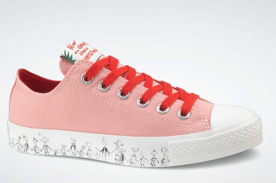"Converse ""The Grinch"" Dr. Seuss Collection"