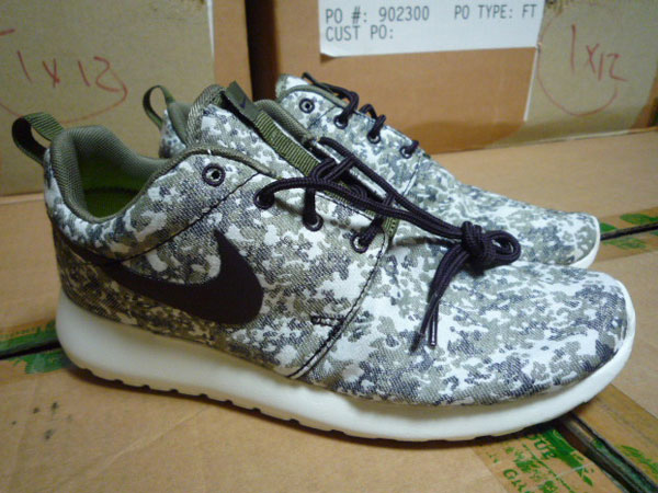 Run Nike Roshe Mens Digi Camo