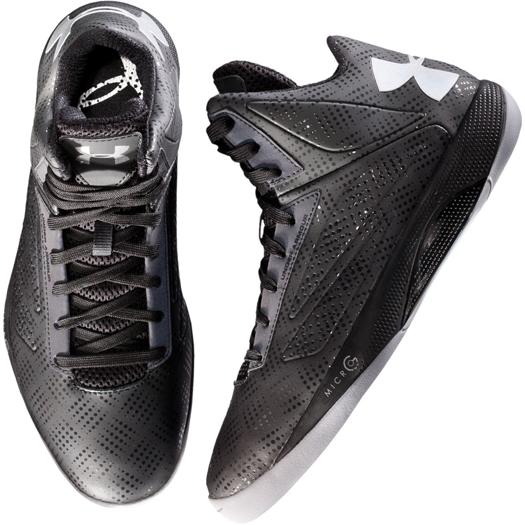 free shipping 9d699 5b8ea Under Armour Micro G Torch Black Silver 1231588-001