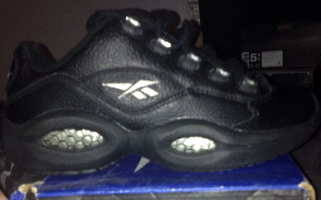 Reebok Question Low Black/Black
