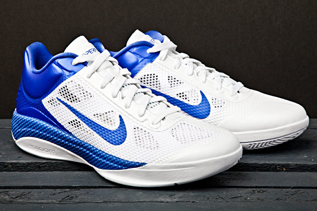 Nike Zoom Hyperfuse Low - White/Royal Blue | Sole Collector