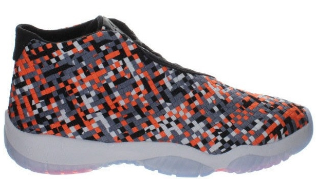 Jordan Future Premium Black/Cool Grey-Pure Platinum-Hyper Crimson
