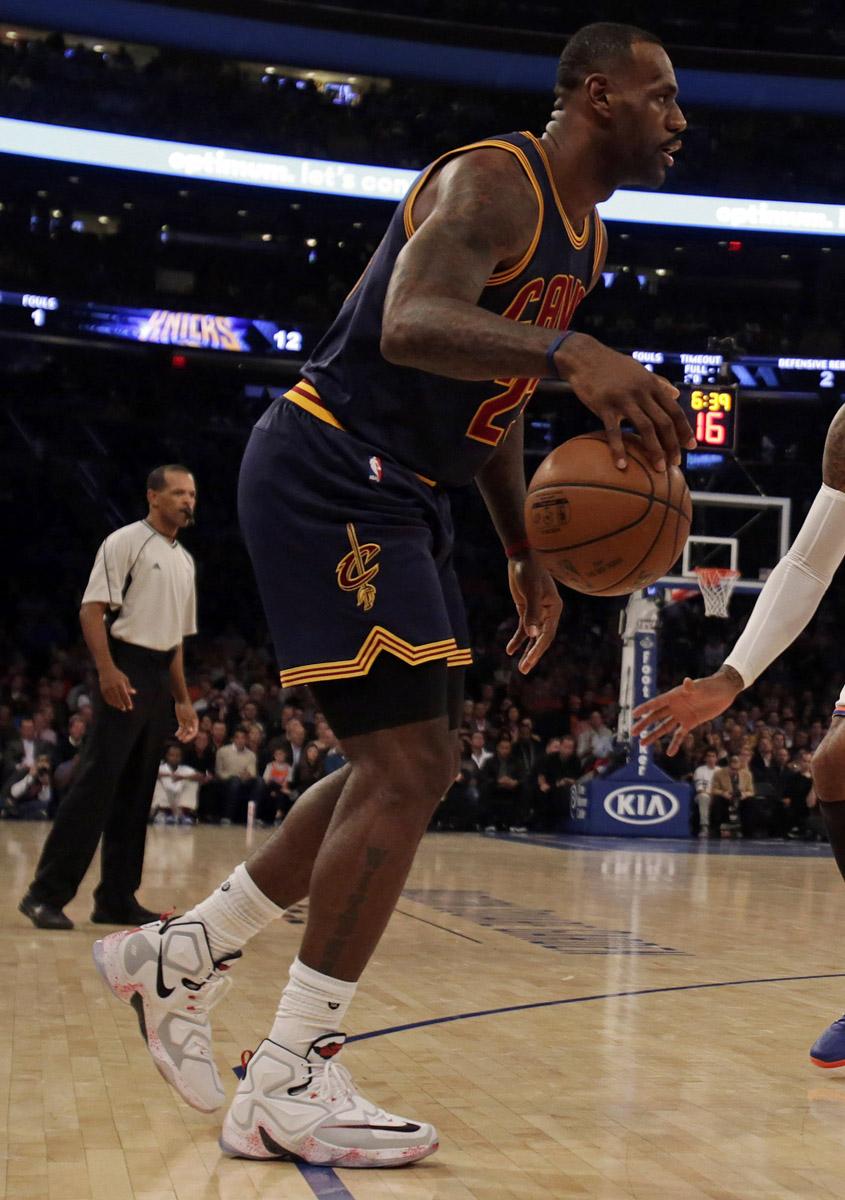 Lebron James New York Knicks Shoes