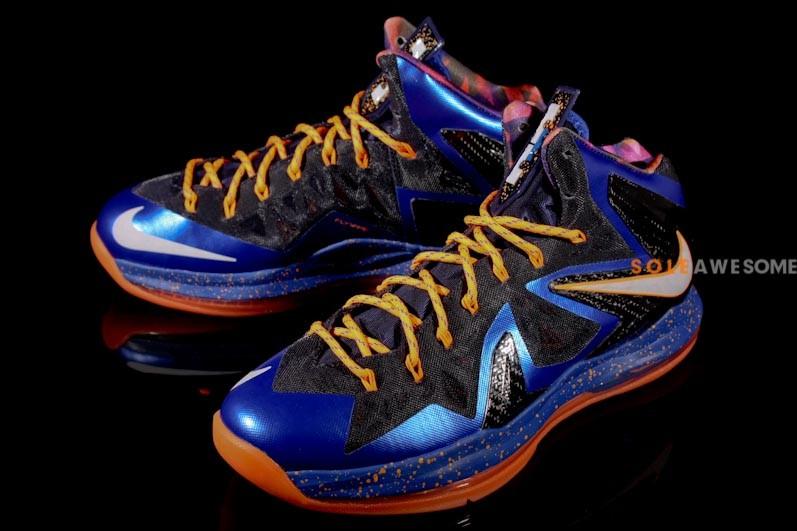 Nike LeBron X Elite - Superhero | Sole