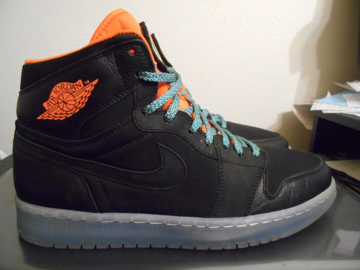 Air Jordan 1 Patch Black Orange