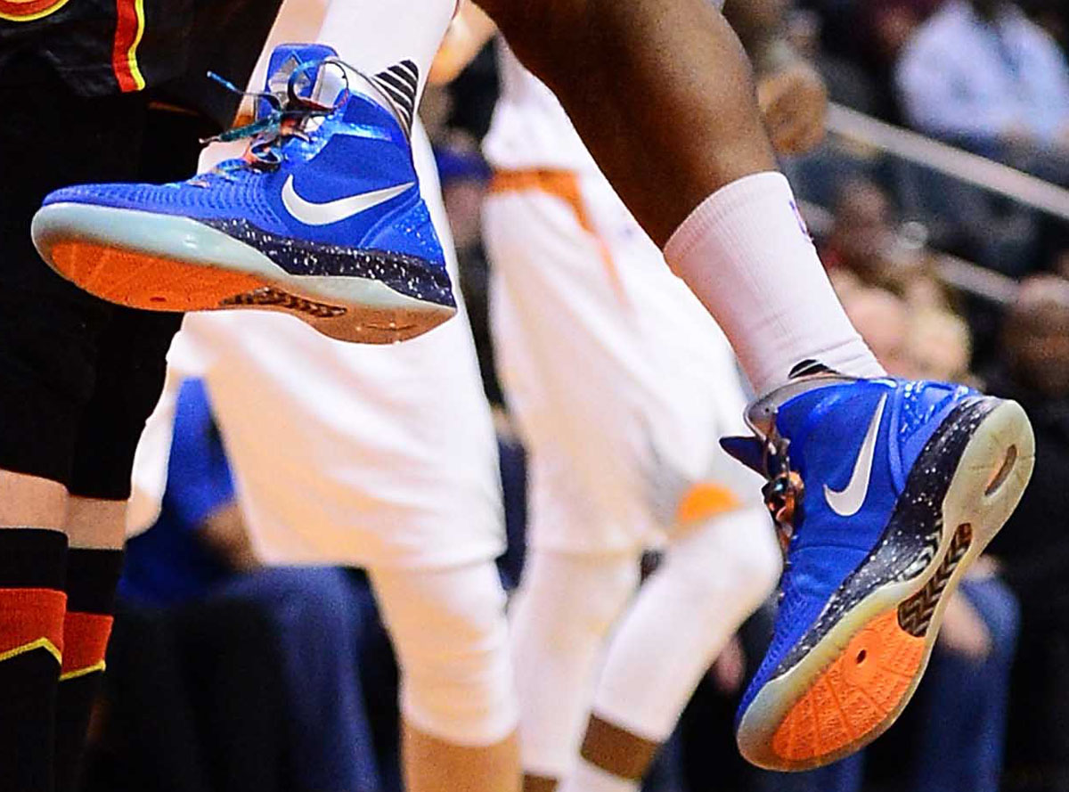 b8c588046ce SoleWatch: P.J. Tucker Plays in Unreleased 'Galaxy' Nikes | Sole ...