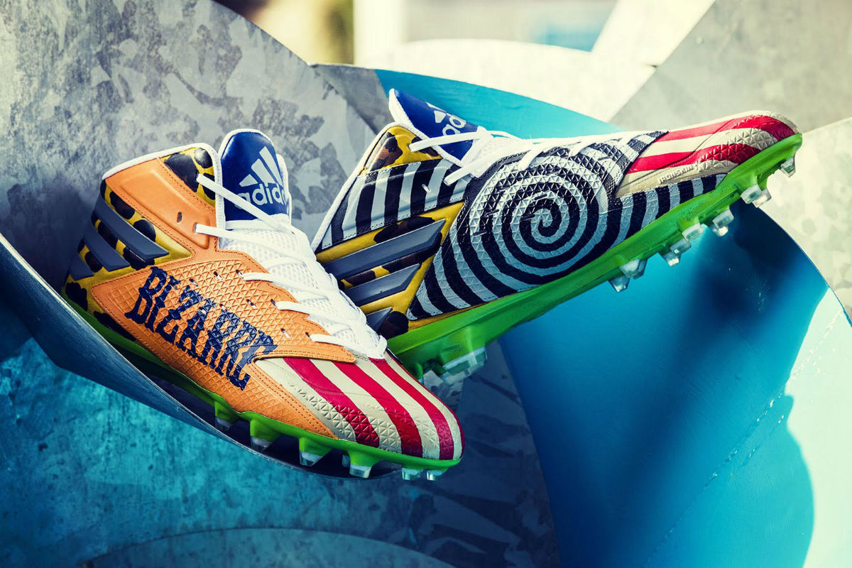 Von Miller Adidas Freak Show Cleats Medial