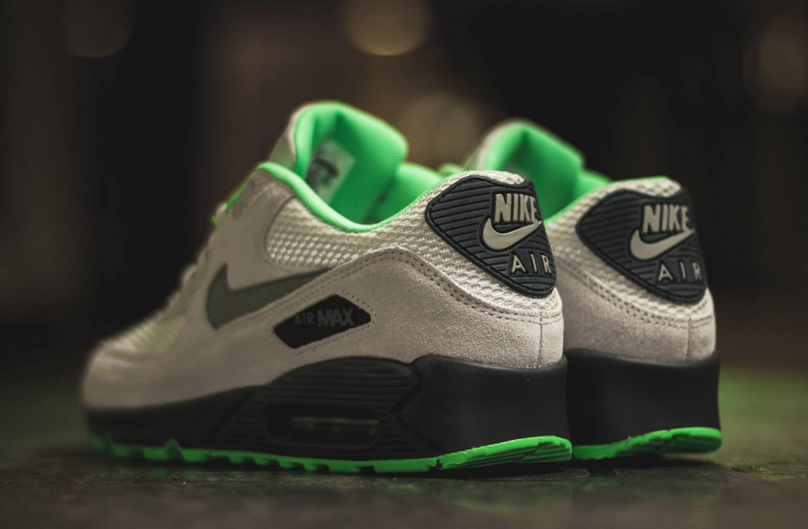 Nike Air Max 90 Green Suede