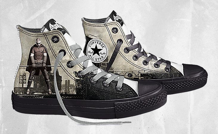 DC Comics x Converse Chuck Taylor All Star Batman Arkham City (3)