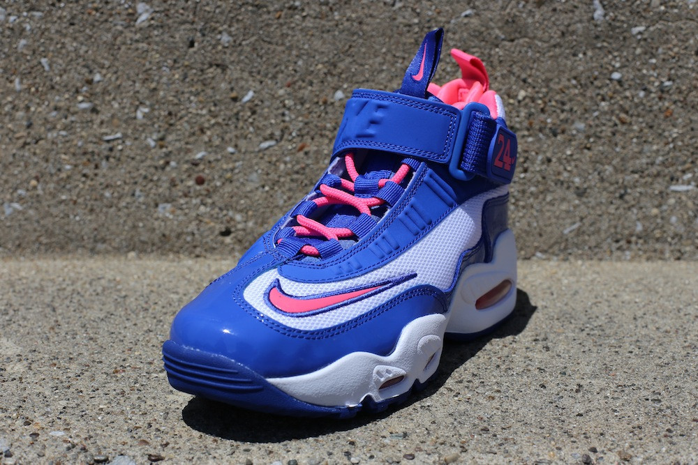 buy popular 53e24 1244a Nike Air Griffey Max 1 GS - White   Digital Pink - Game Royal