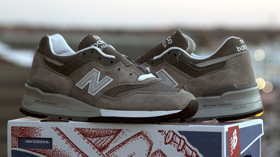 New Balance 997 from the Skowhegan Shoe School