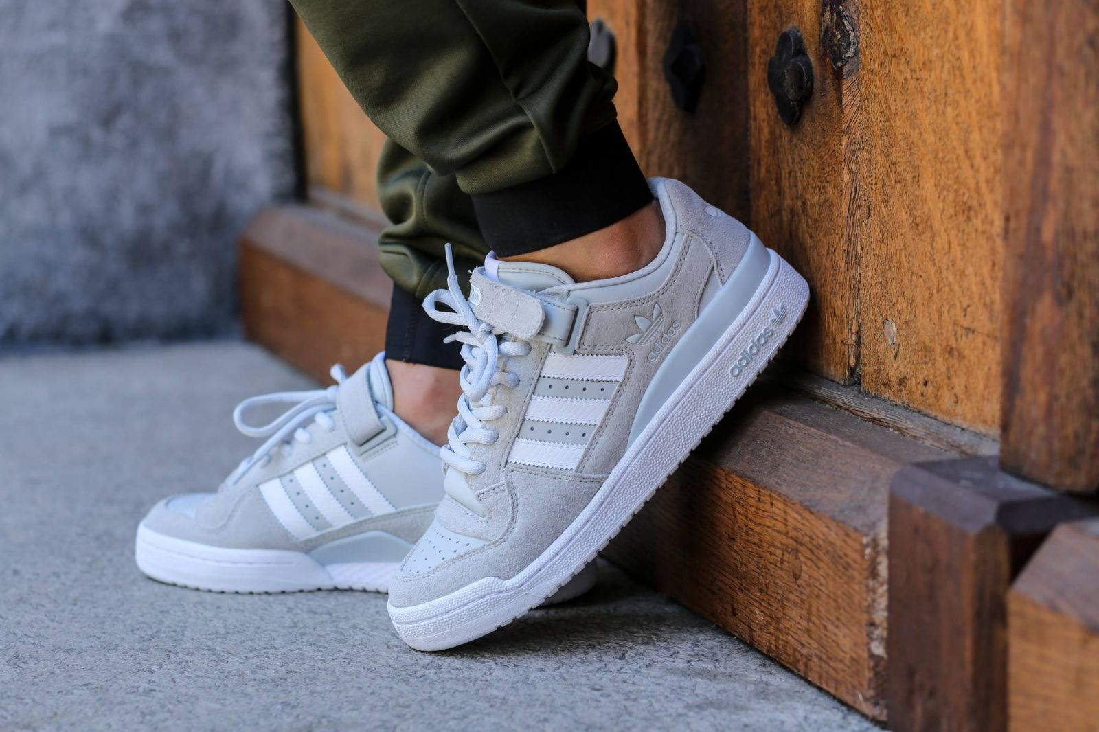 adidas low ankle sneakers