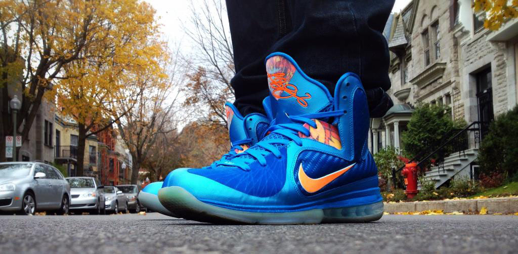 Spotlight // Forum Staff Weekly WDYWT? - 11.16.13 - Nike LeBron 9 China Blue Flame by Shooter