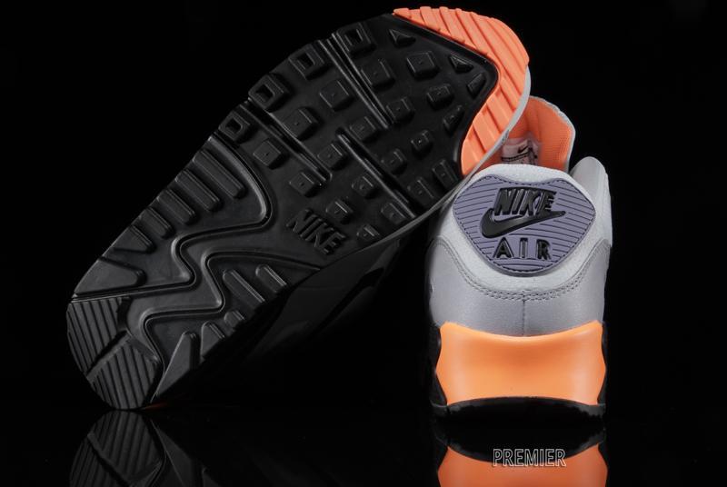 nike air max 90 iron grey orange