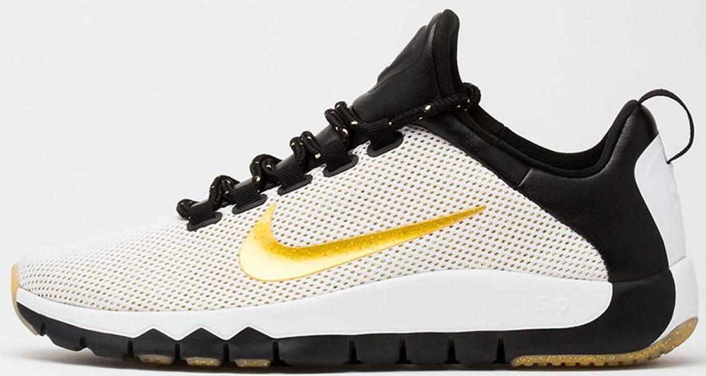 Nike Free Trainer 5.0 LE White/Metallic Gold-Black