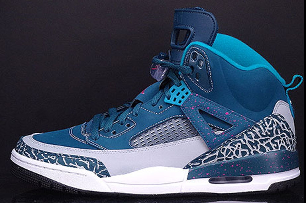 Jordan Spiz'ike Space Blue/Wolf Grey-Tropical Teal-Fusion Pink