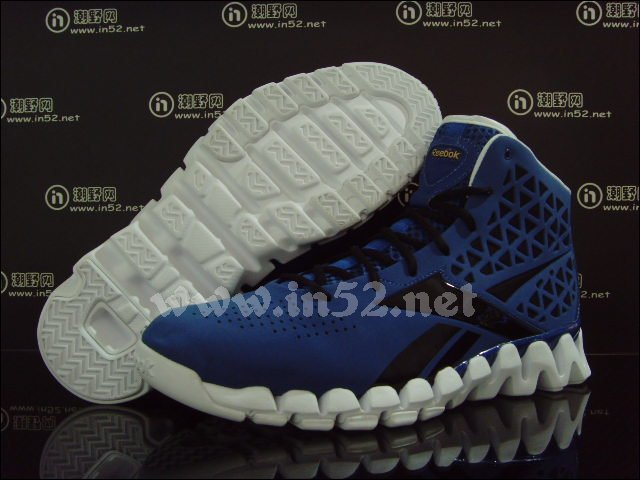 Reebok Zig Slash John Wall Blue Black Gold