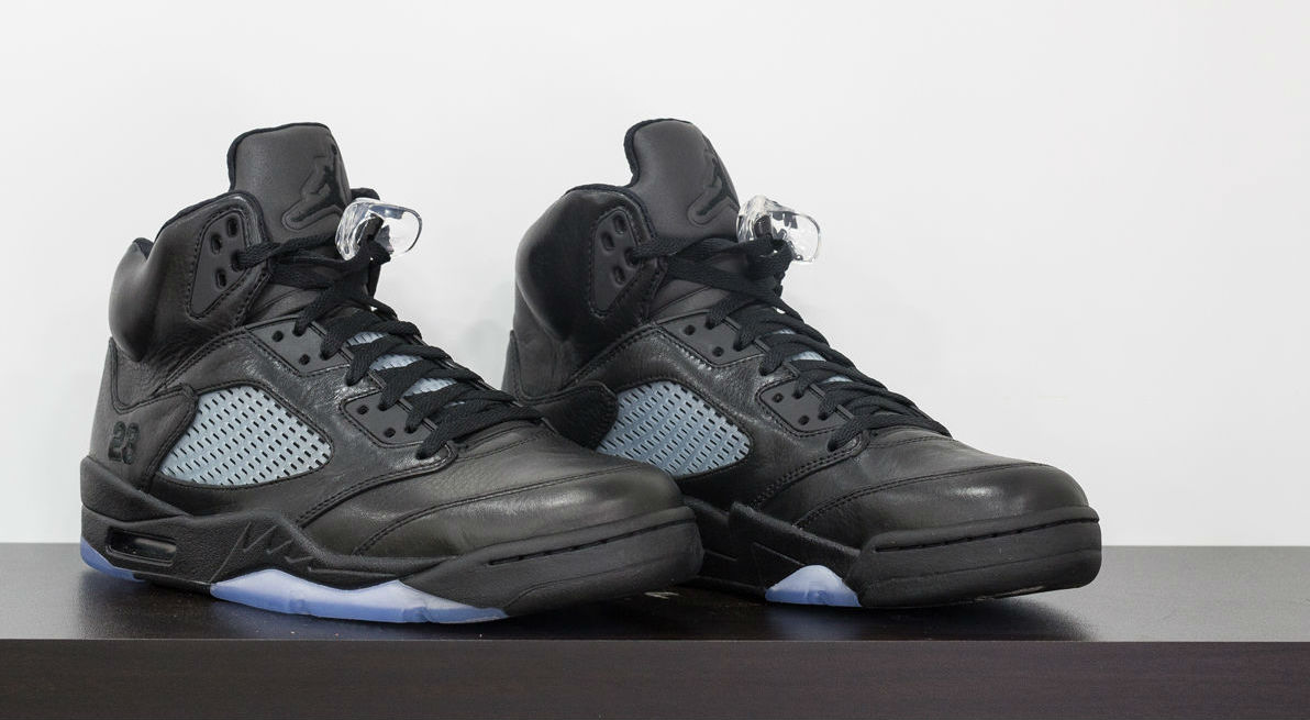 4446fa1f1b362f Air Jordan 5 Kobe Black Collection