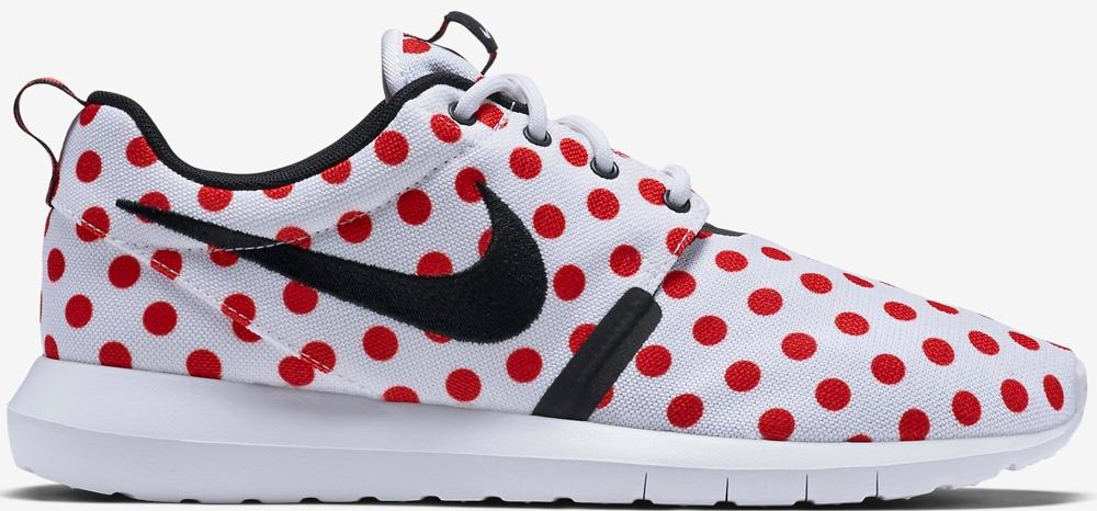 Nike Roshe One NM White/Black-Action Red