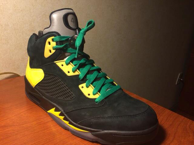 Air Jordan 5 Retro Oregon Black JumpDuck (1)