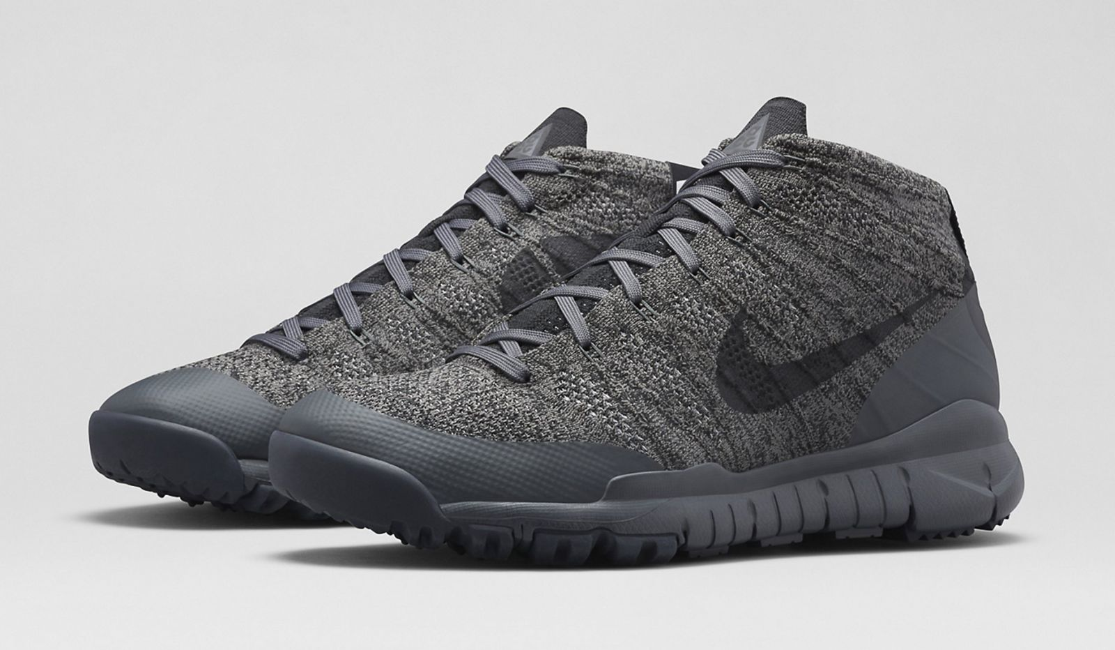 e50876f782a46a Nike ACG Flyknit Trainer Chukka FSB Release Date  12 18 14. Color   Black Anthracite-Black Style    728656-001. Price   220