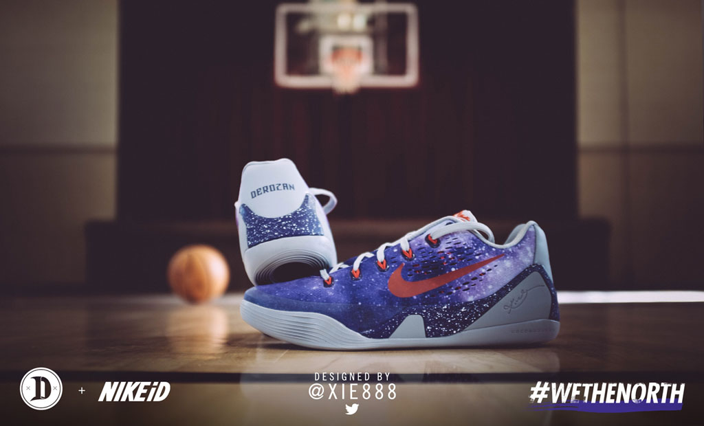 dc643781b490 SoleWatch  DeMar DeRozan Laces Up the First of 5 Fan Designed Nike ...