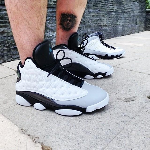 2014 Air Jordan XIII 13 Retro Mens Shoes Blue White